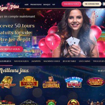 Jeux VegasPlus : quels sont les jeux proposés par le casino ?